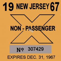 1967 New Jersey TRUCK Inspection