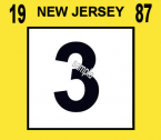 1987 New Jersey inspection sticker
