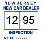 1995 New Jersey New Car Dealer