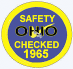 1965 Ohio Inspection Sticker