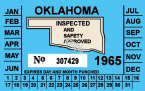 1965 Oklahoma Inspection