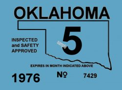 1976 Oklahoma inspection