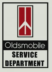 Oldsmobile Service Department