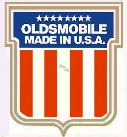 Oldsmobile Sticker Made in USA