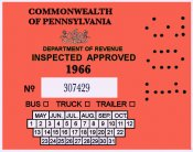 1966 Pennsylvania Bus TRUCK trailer Inspection