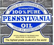 Pennsylvania Crude Oil 1940s