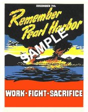 1942 Pearl Harbor Work Fight Sacrifice