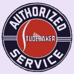 STUDEBAKER Authorized Dealer Sticker