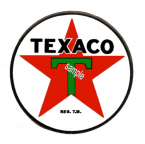 TEXACO Gas Sticker
