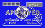 1936 Virginia inspection sticker