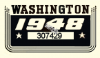 1948 Washington registration inspection Sticker