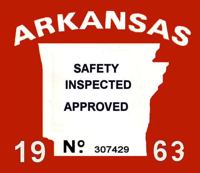 1963 Arkansas inspection
