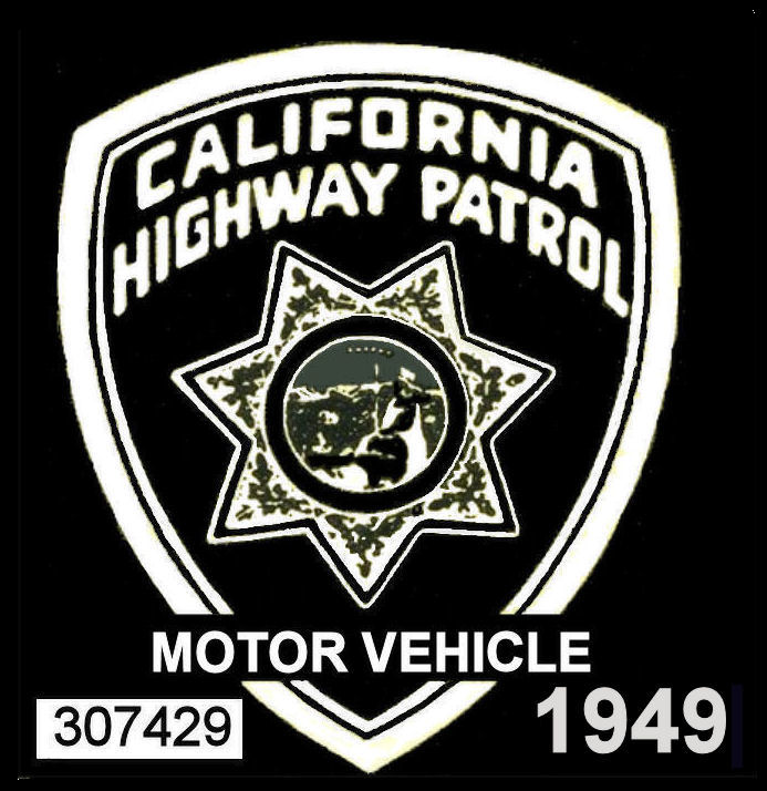 1949 California safety inspection sticker