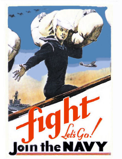1942 Navy ..FIGHT Join the Navy