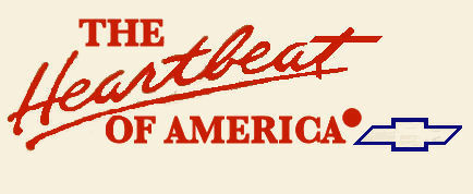 Chevrolet Heartbeat of America SMALL