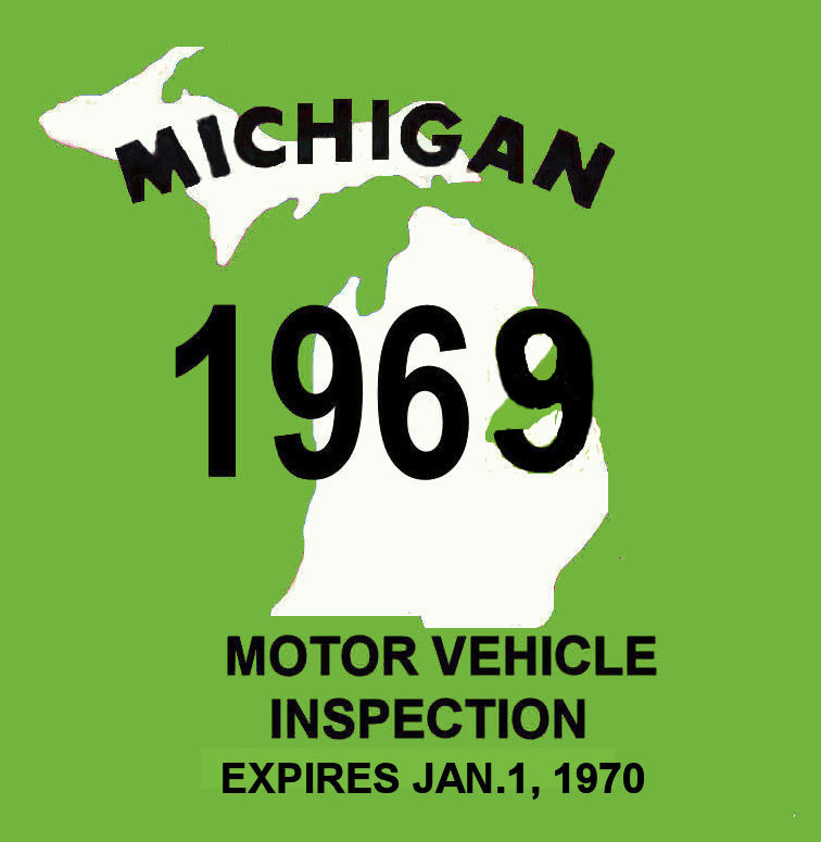 1969 Michigan Inspection
