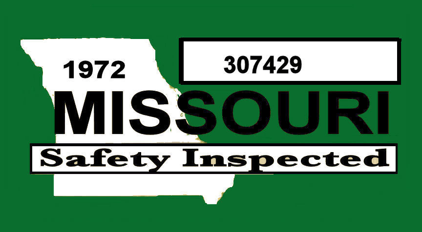 1972 Missouri Inspection