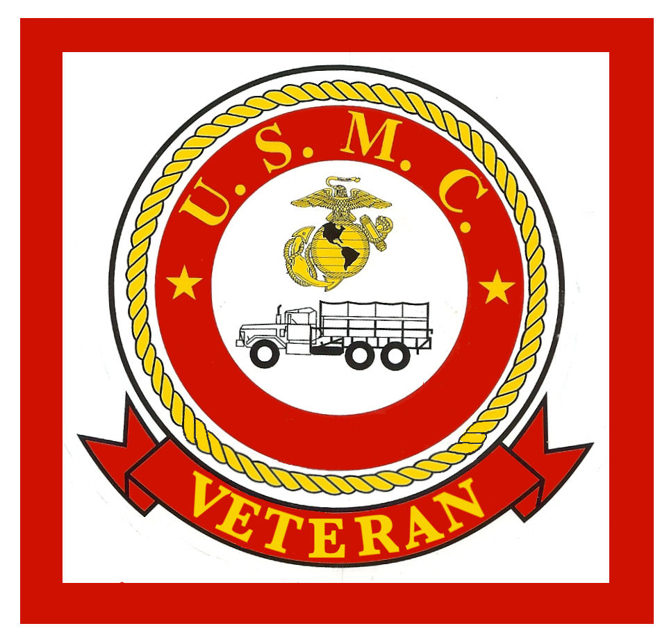 United States Marine veteran Sticker