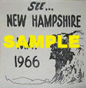 1966 New Hampshire Inspection Sticker