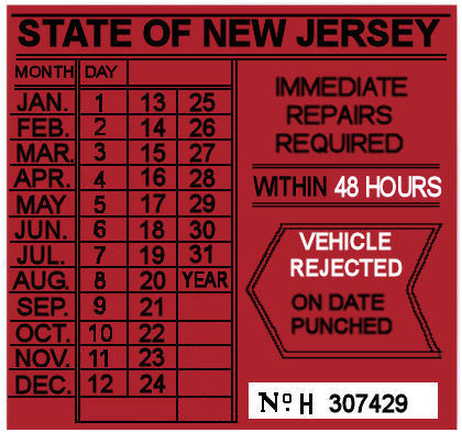 New Jersey Vehicle Inspection Vehicle Ideas