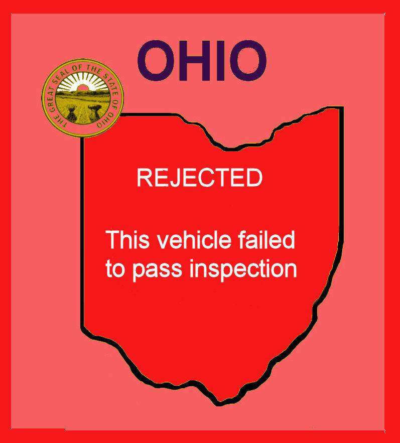 A Ohio Rejection sticker