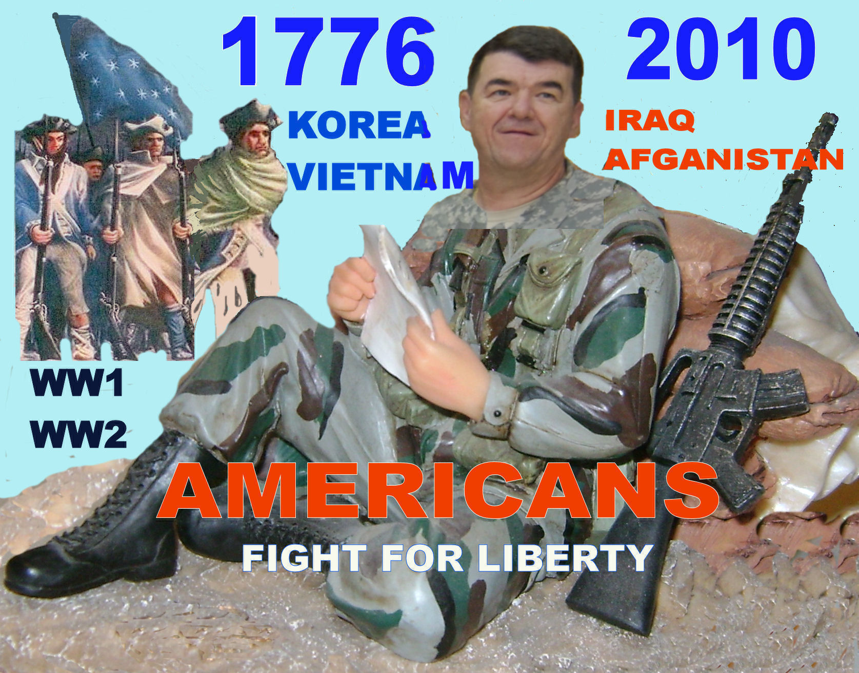 00 FIGHT FOR LIBERTY 1776 to NOW