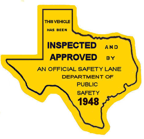 As of Sunday, Texas changed to a single sticker system that eliminated the  familiar green