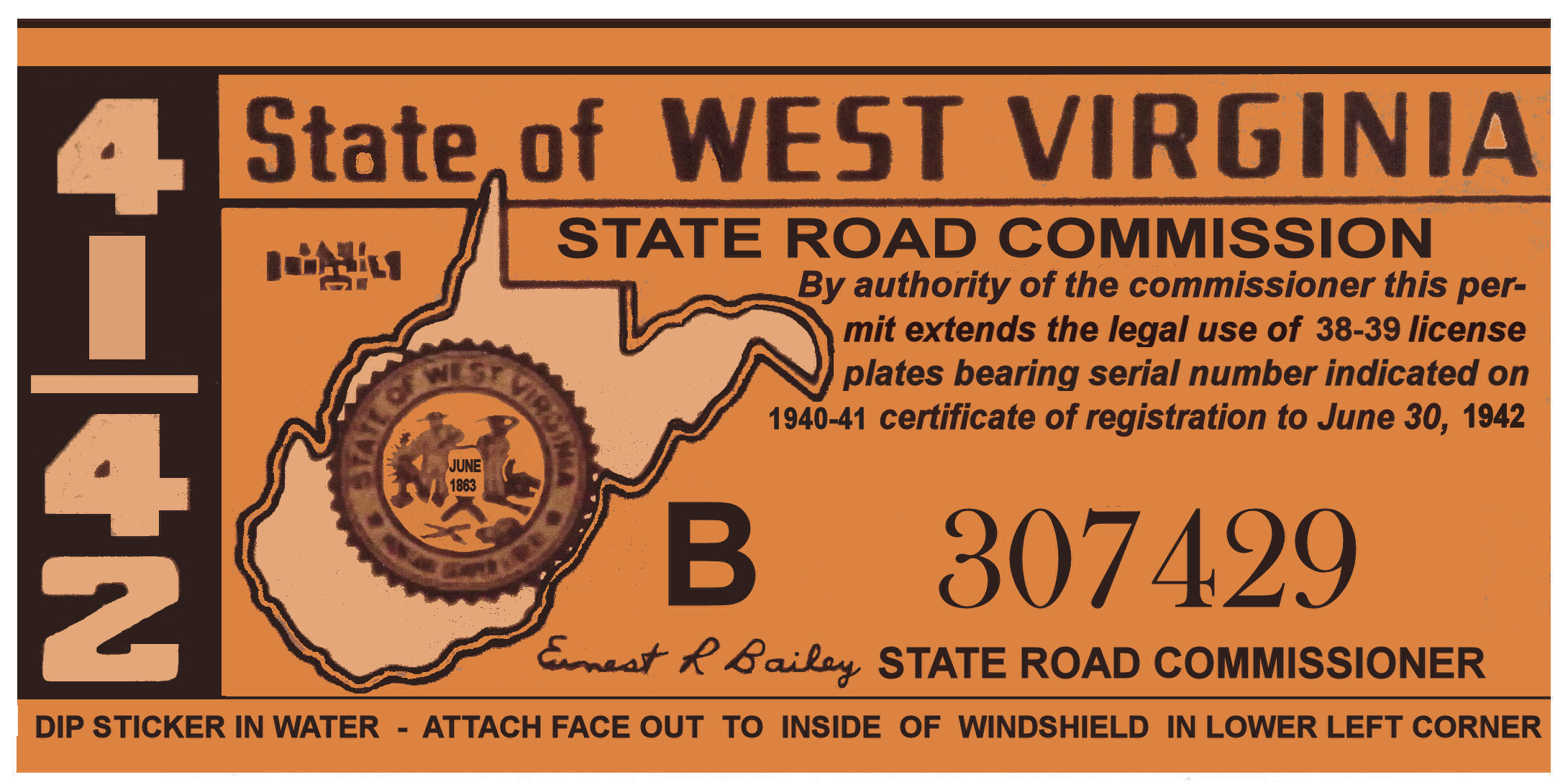 1941-42 West Virginia Inspection